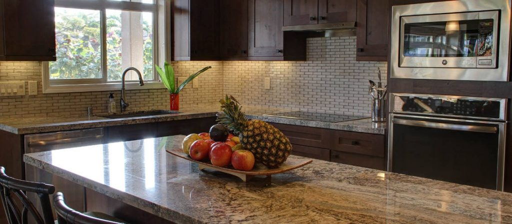 Kitchen With Stone Counters