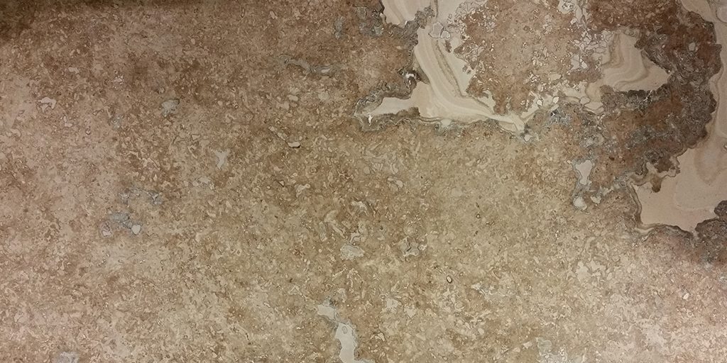Results of Filling Travertine Tiles